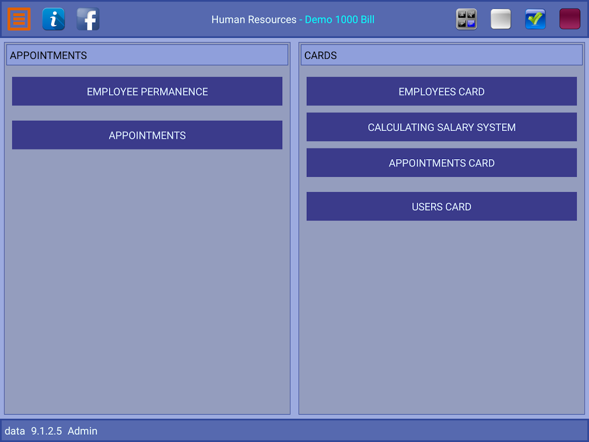 Golden Human Resources- screenshot