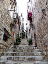 Photo: There were many steps in the old town.