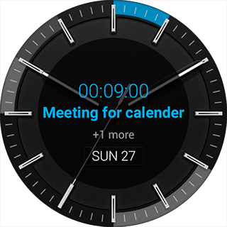 CalendarWatchface APK screenshot thumbnail 2