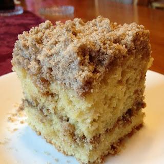 Extra Crumb Cinnamon Struesel Sour Cream Coffee Cake.
