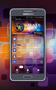 Galaxy VPN - náhled