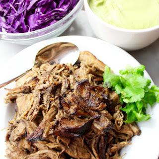 Easy Slow Cooker Pork Carnitas.
