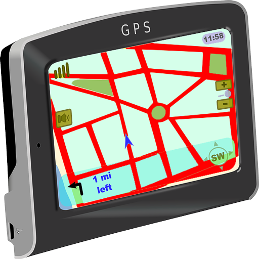GPS Route Navigation Finder