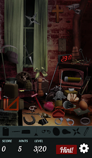 Hidden Object - Haunted House- screenshot thumbnail