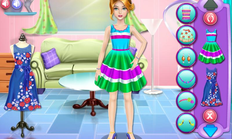 Nadia Lip Care and Dress Up- screenshot