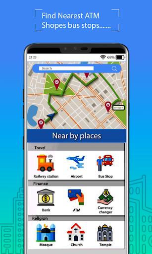 Voice GPS Driving Route : Gps Navigation & Maps screenshot 10