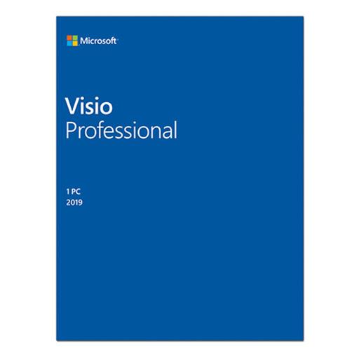 Phần mềm Visio Pro 2019 Win All Lng PKL Online DwnLd C2R NR (D87-07425)
