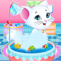 Fluffy Kitty Grooming - Kitty Care Salon icon