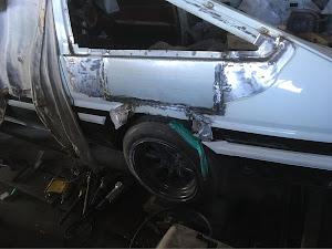 スプリンタートレノ AE86 AE86 GT-APEX(s58年)のカスタム事例画像 中ちゃんさんの2019年01月27日20:58の投稿