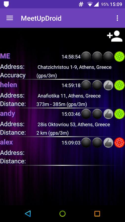 MeetUpDroid - στιγμιότυπο οθόνης