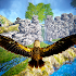 Forest Flying Birds