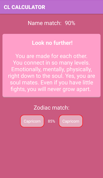 Crush Love Calculator – (Android Apps) — AppAgg