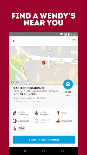 Wendy's – Food and Offers screenshot