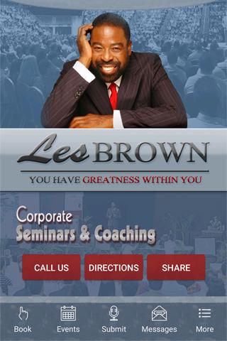 Les Brown The Master Motivator