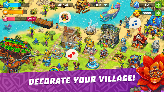 The Tribez: Build a Village Mod Apk Download For Android and Iphone 8