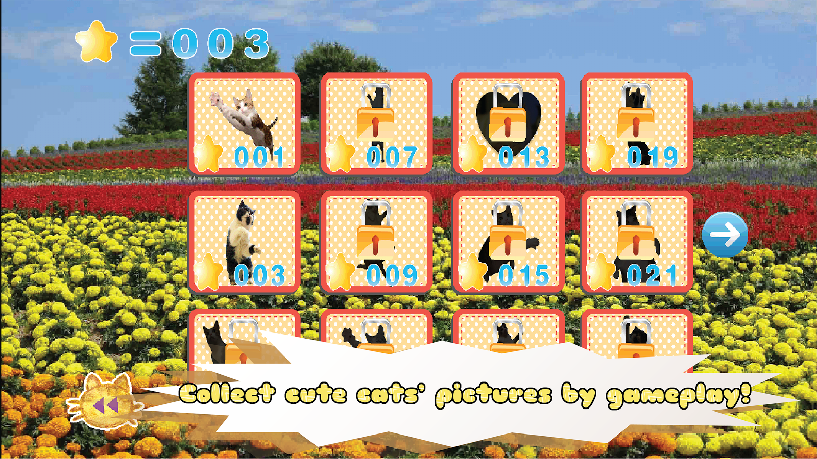 Jumping Cat FREE - touch & tap- screenshot