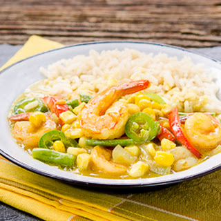 Thai Yellow Curry Shrimp