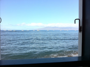 "Photo: The view from my table at ""Cheeseburger in Paradise"""