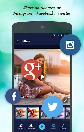 Editor de vídeo de fotos screenshot 4