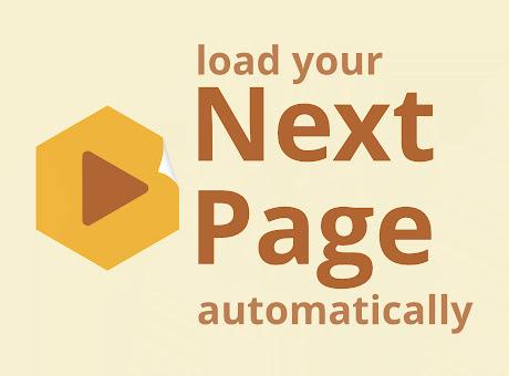NextPage - auto load next page