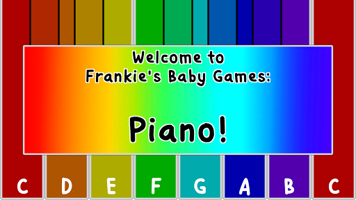 Frankie's Baby Games: Piano