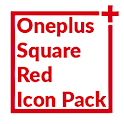 Square Red Icon Pack Oneplus Style icon