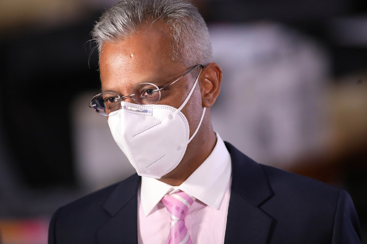 Anoj Singh at the state capture inquiry in Johannesburg. File photo.
