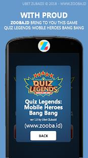 Quiz Legends: ML Heroes & Items 2