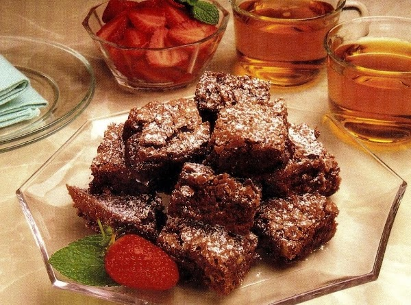 Chocolate Chunk Brownies (microwave Version) Recipe