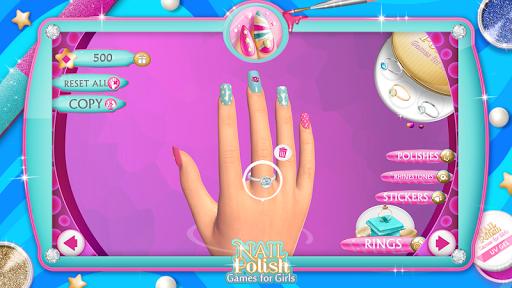 Nail Polish Games For Girls