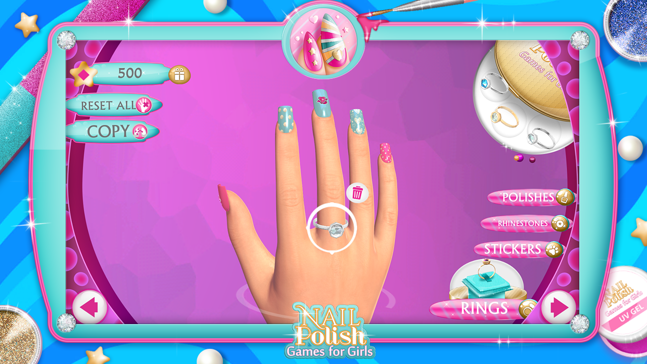 Nail Art Ideas barbie nail art games to play : Nail Polish Games For Girls - Android Apps on Google Play