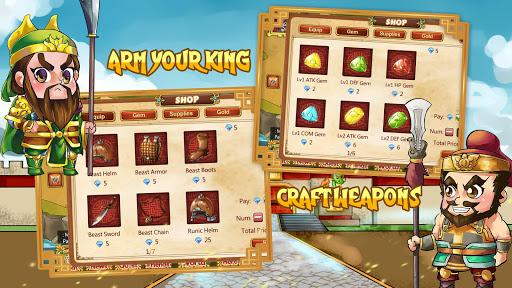 Télécharger Thrones of 3 Kingdoms Conquest mod apk screenshots 5