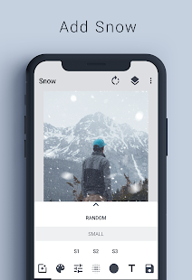 Snow Photo Effects - Text on Photo Screenshot