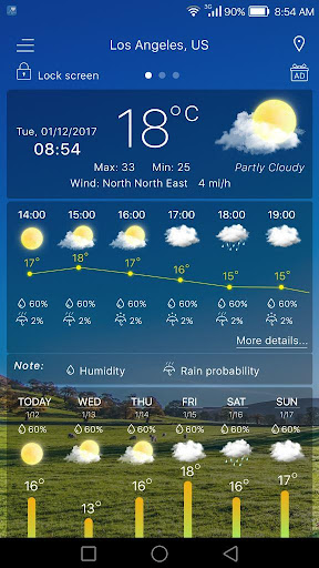 Weather  screenshots 6