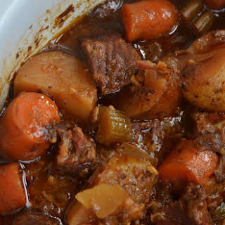 Crock Pot Beef Stew for Two.