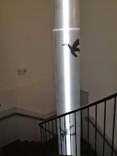 Photo: Escalier de liaison : Cour des rouges - musée