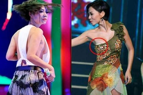 Những pha lộ ngực muối mặt của sao Việt trên sân khấu - Hình 11