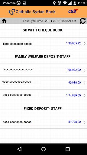 CSB ePassbook screenshot 5