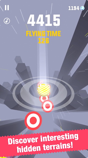 Falling Ball - screenshot