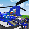 Police Airplane Cars Transporter: Haulers Driving APK