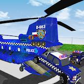 Tải Cảnh sát Airplane Ô tô Transporter miễn phí