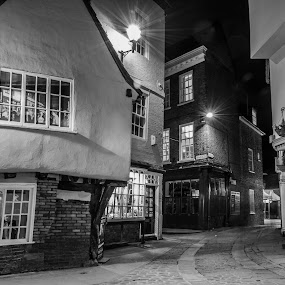 Shambles streets 2 by Octavian Oprea - City,  Street & Park  Historic Districts ( cityscapes, night photography, streets, night, city )