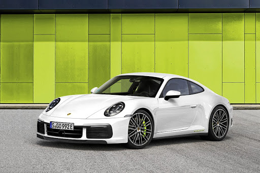 Our artists have created their impression of the next-generation Porsche 911, including this e-hybrid version.