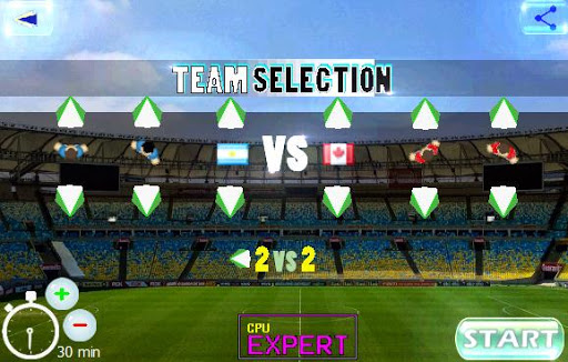 Télécharger Gratuit soccer for 2 - 4 players apk mod screenshots 1