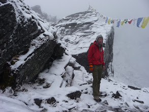 Photo: Lyngve at the Zawtra-la pass (4600m)