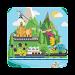 Wisata Indonesia - Peta tempat liburan indonesia icon