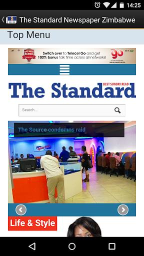 The Standard News Zimbabwe  screenshots 5