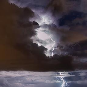 Positive CG by Boris Basic - Landscapes Weather ( lightning thunder storm )