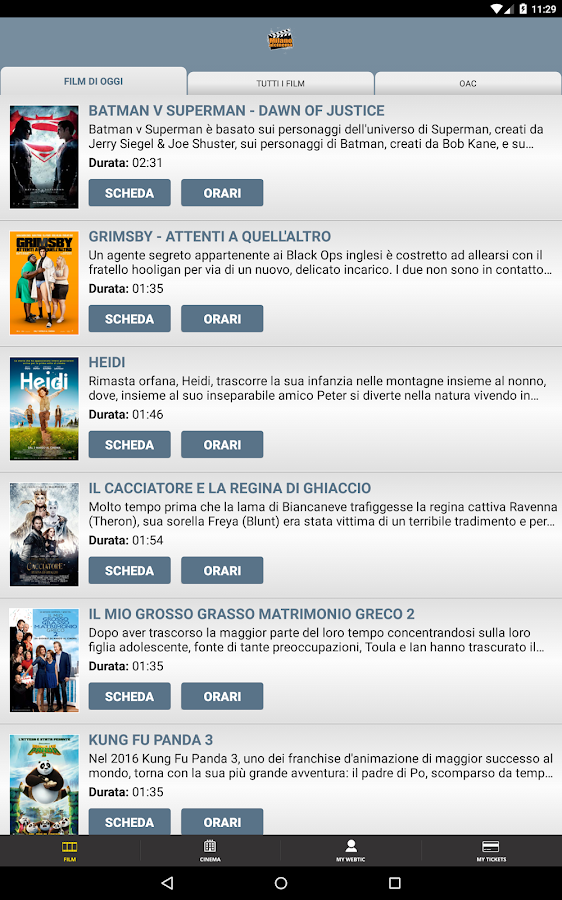 Webtic Milano al Cinema- screenshot