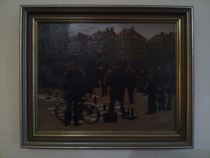 Photo: Street Chess - Picture 2 of 3 = 15 1/2 inch x 12 inch